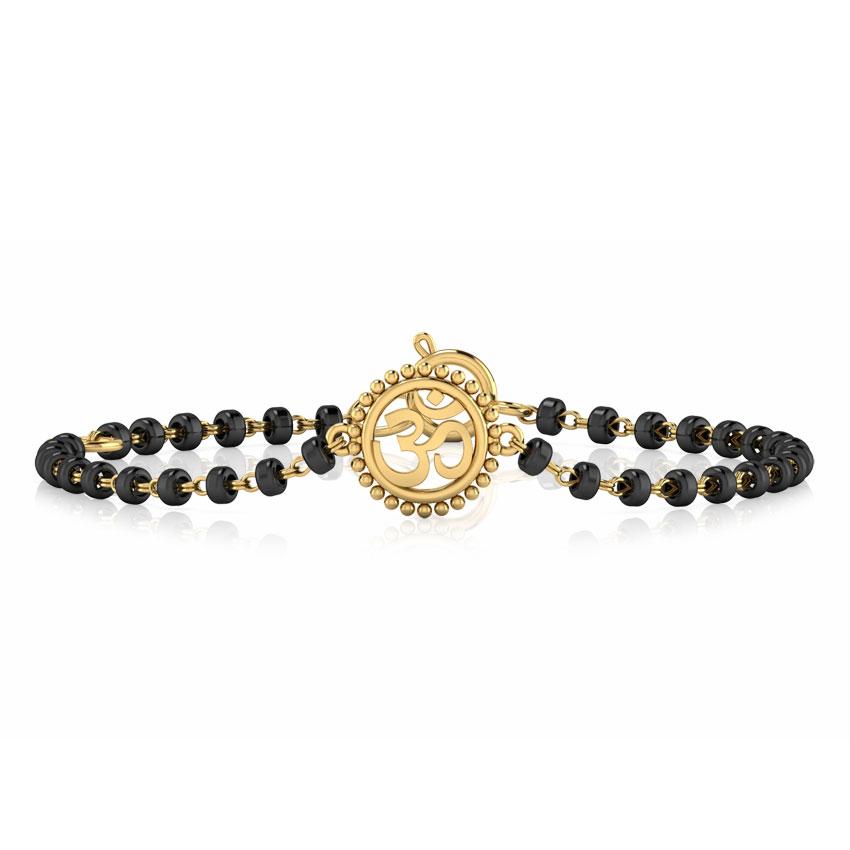 Om Infant Bracelet Set of 2
