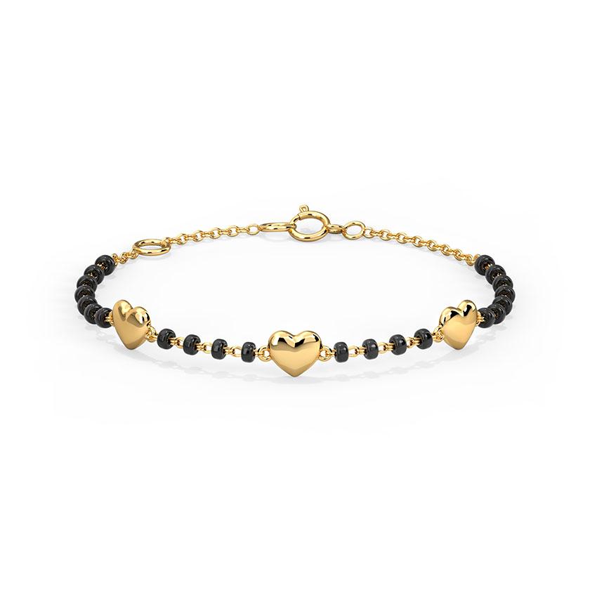 Gold Bracelets 14 Karat Yellow Gold Lovable Infant Nazaria Gold Bracelet
