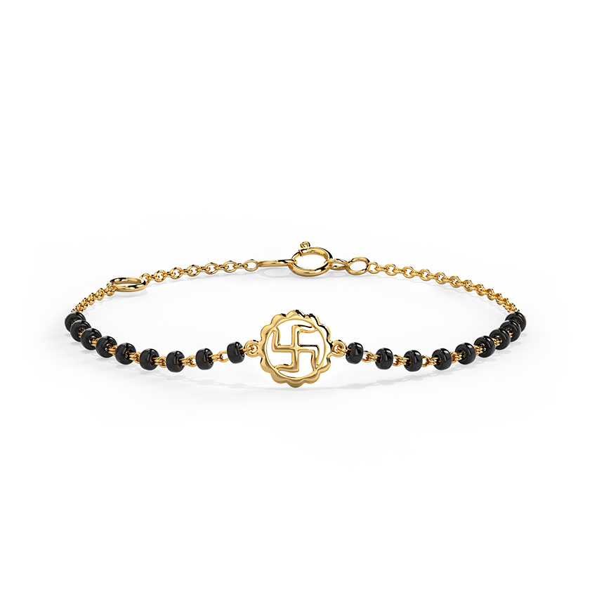 Divine Swastik Infant Bracelet