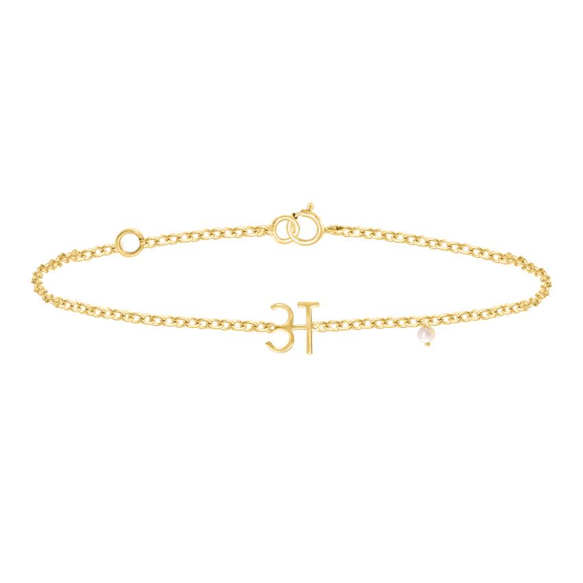 A Akshar Bracelet