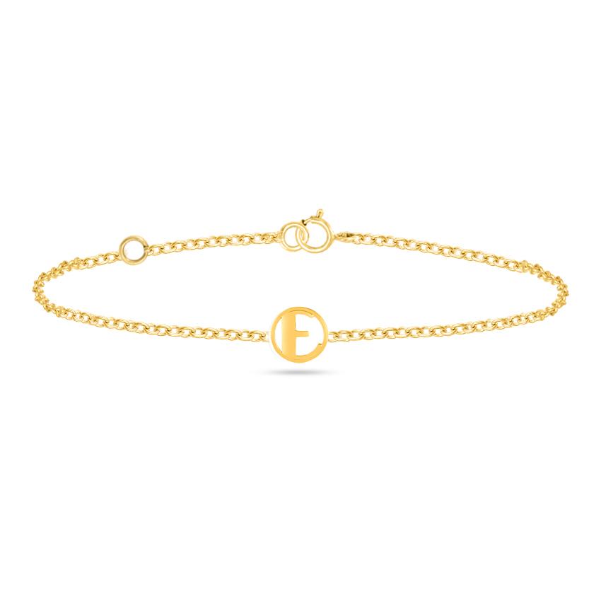 Artsy Alphabet E Bracelet