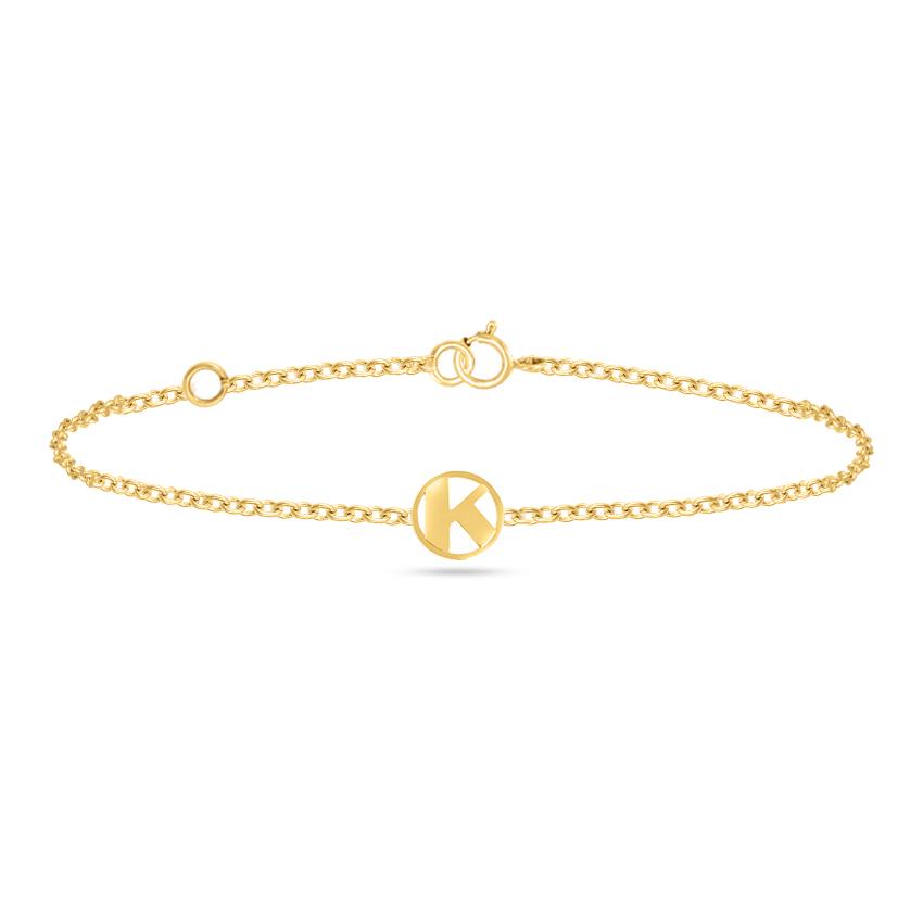 Artsy Alphabet K Bracelet
