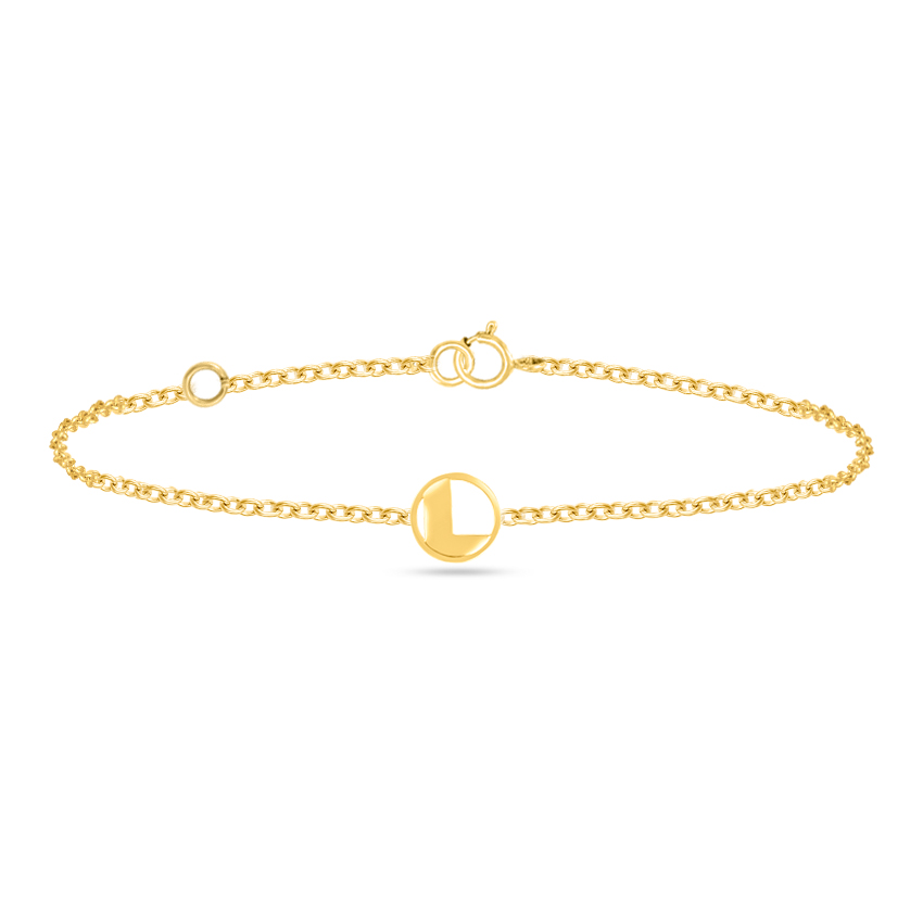 Artsy Alphabet L Bracelet