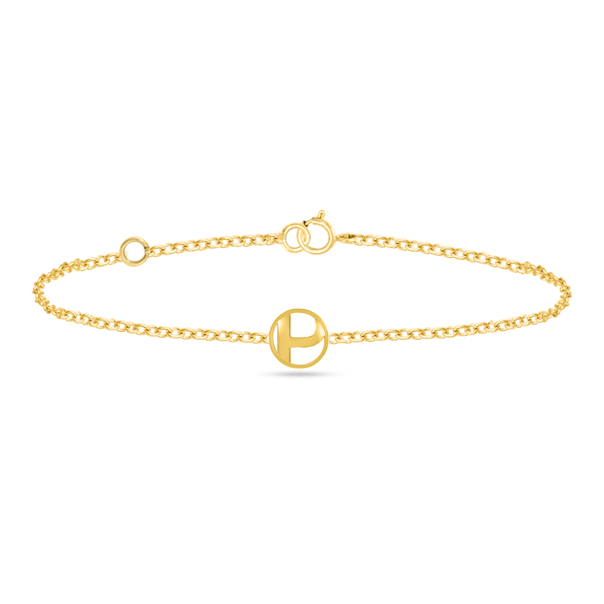Artsy Alphabet P Bracelet