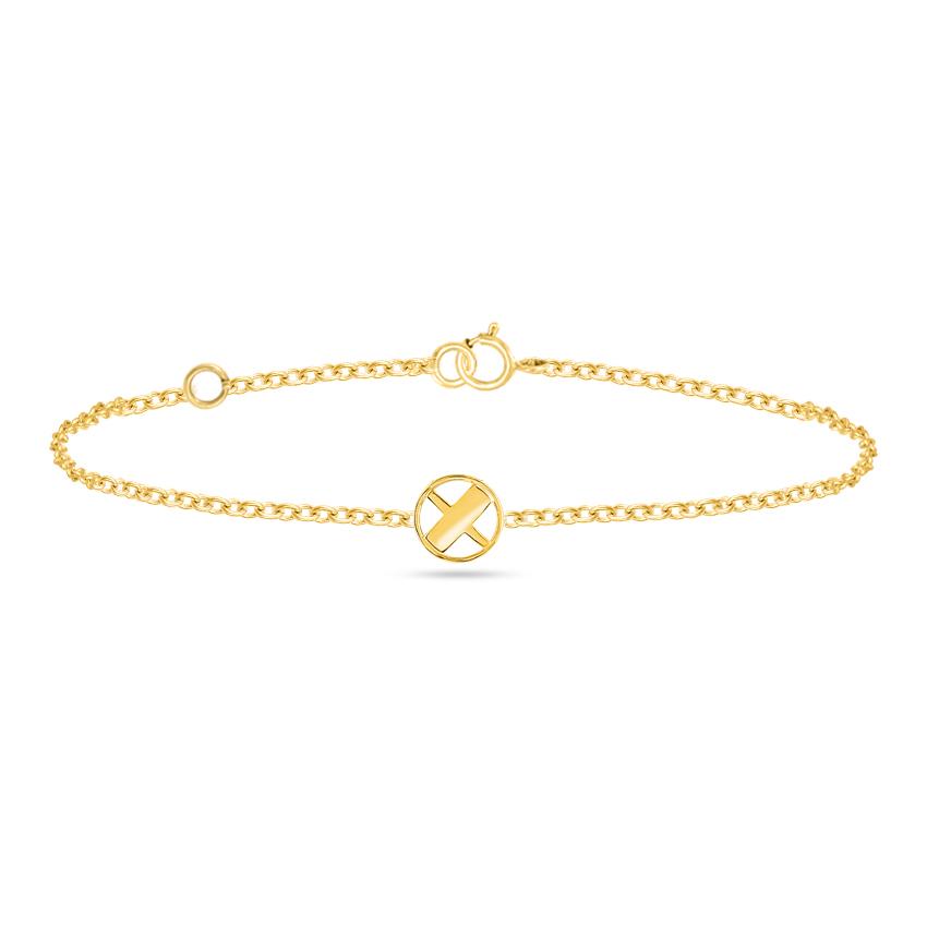Artsy Alphabet X Bracelet