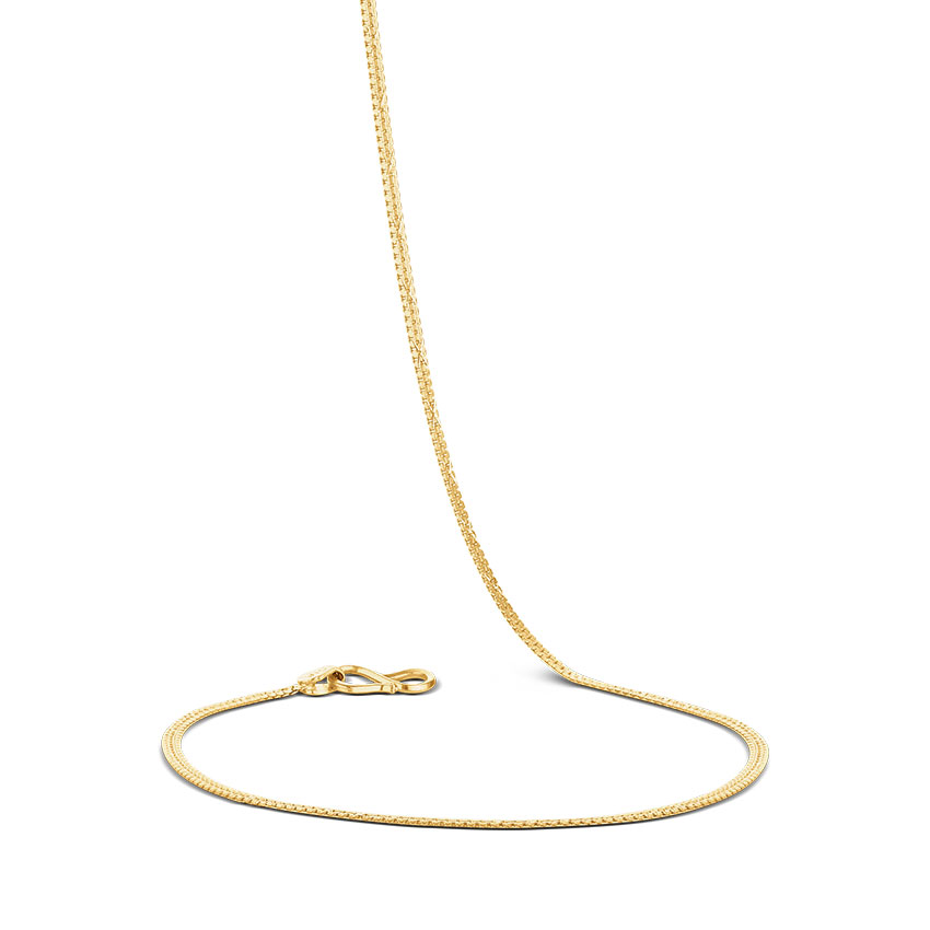 Curlicue Venetian Gold Chain