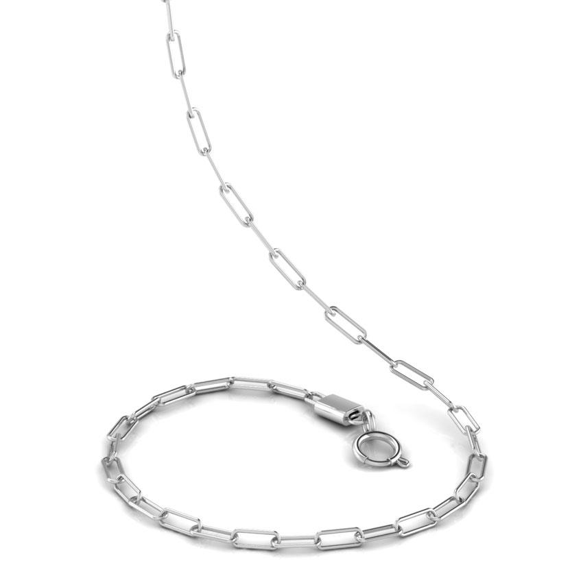 Fancy Linear Platinum Chain