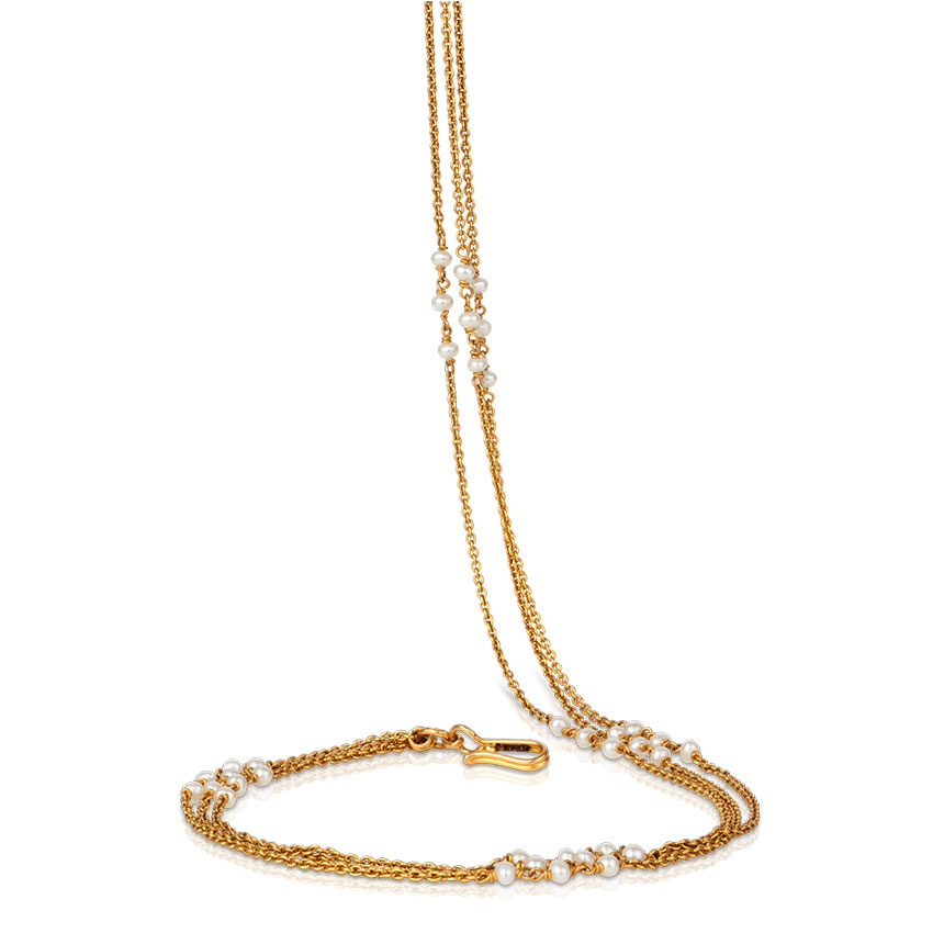Strands Cable Gold Chain