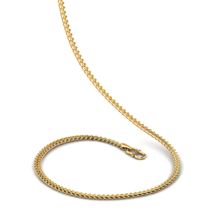 Dual Cable Gold Chain
