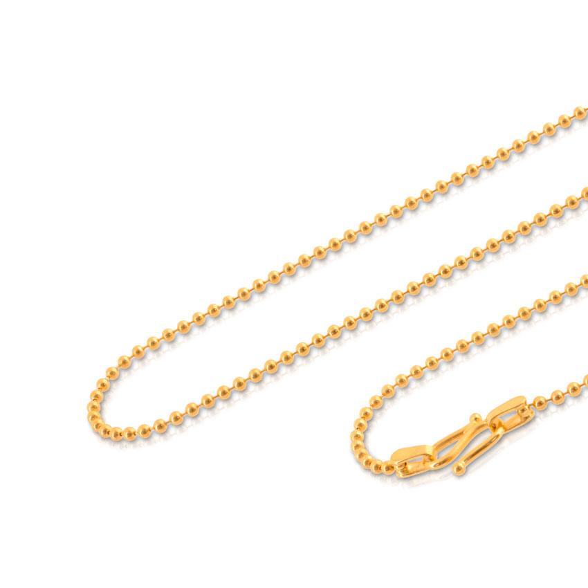 Ravish Ball Gold Chain