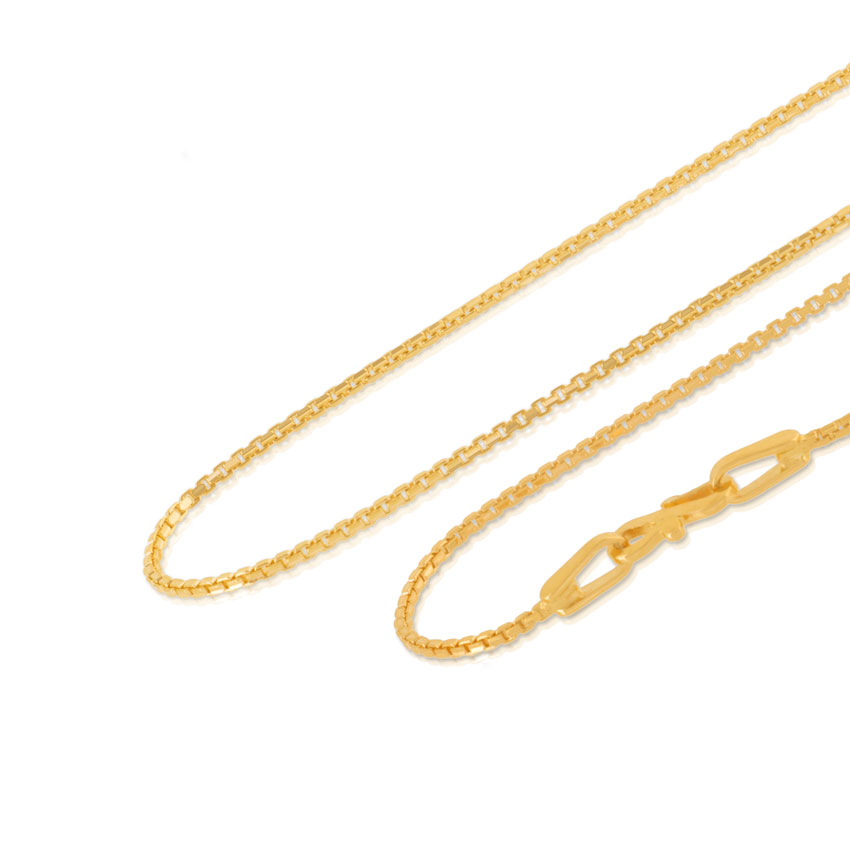 Gleam Box Gold Chain