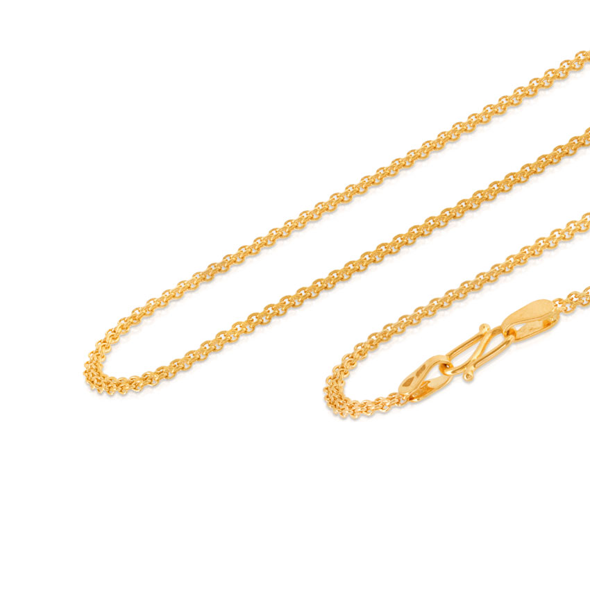 Sheer Cable Gold Chain