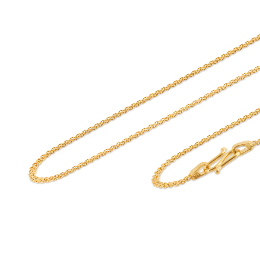 Duo Twine Cable Gold Chain