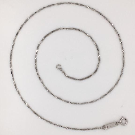 Charlie Platinum Curb Chain