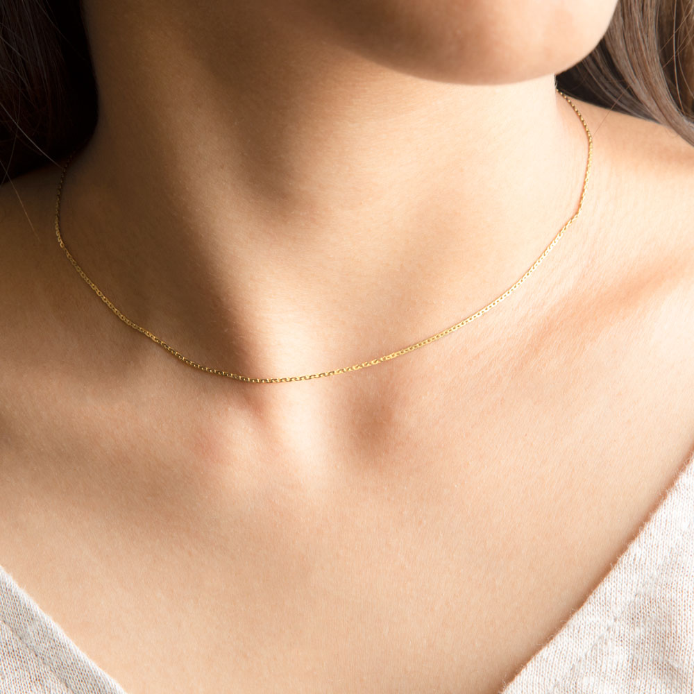 Unite Cable Gold Chain
