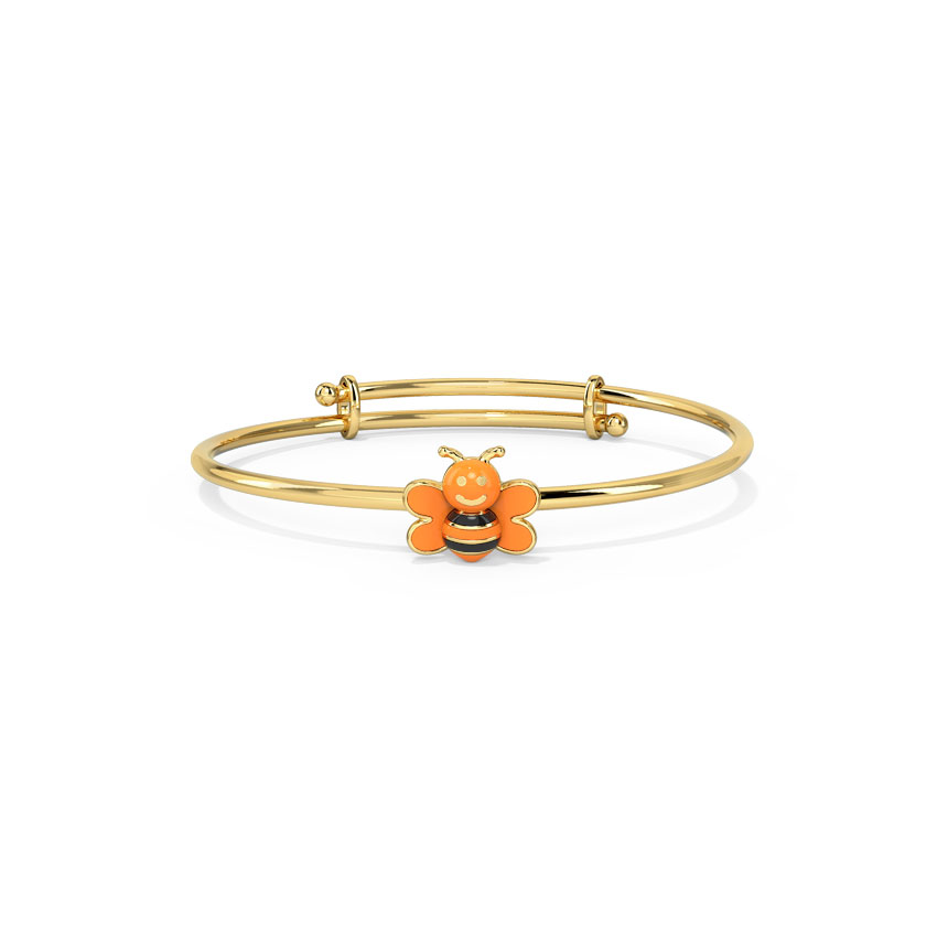 Colourful Bee Infant Bangle