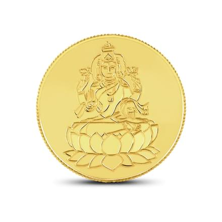1gm, 22Kt Lakshmi Gold Coin