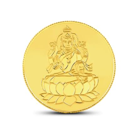 1gm, 24Kt Lakshmi Gold Coin