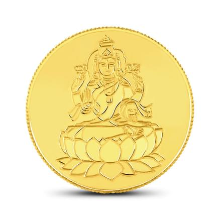 2gm, 24Kt Lakshmi Gold Coin
