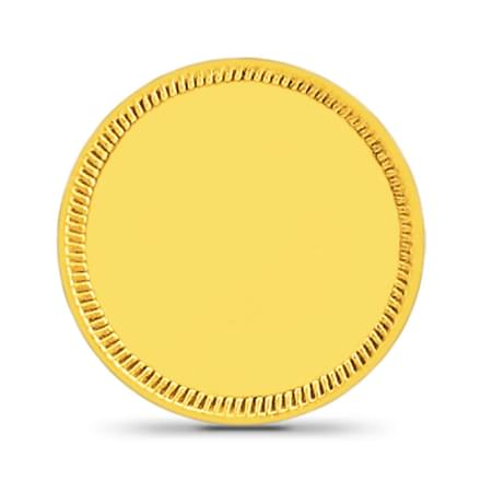 4gm, 24Kt Plain Gold Coin