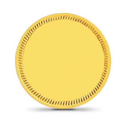 8gm, 24Kt Plain Gold Coin