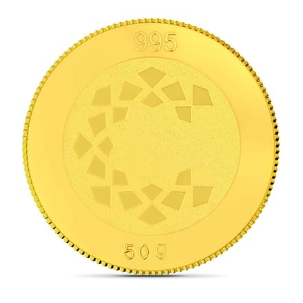 50gm, 24Kt Lakshmi Gold Coin