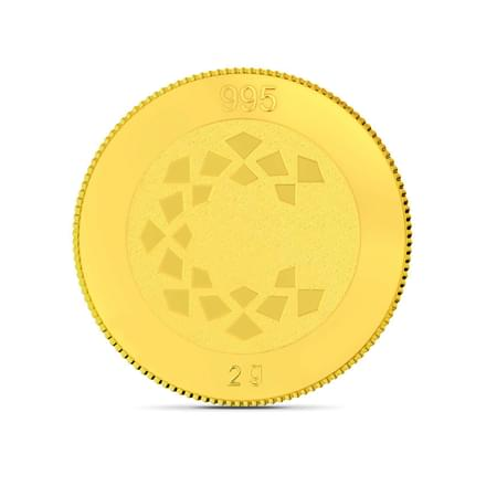 2gm, 24Kt Lord Murugan Gold Coin