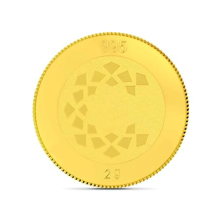 2gm, 24Kt Shirdi Sai Baba Gold Coin