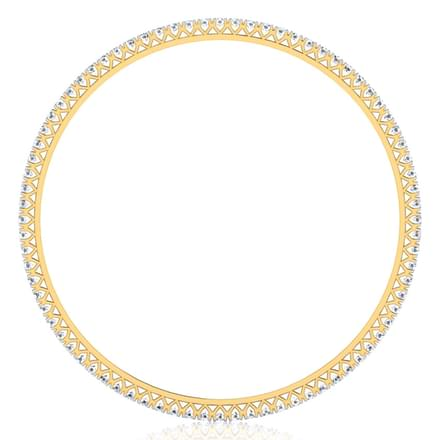 Gleaming Diamond Bangle