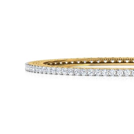 Luminous Diamond Bangle