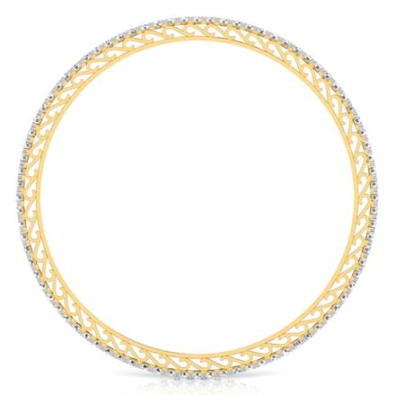 Glinting Diamond Bangle