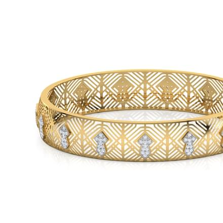 Seksaria Chevron Bangle
