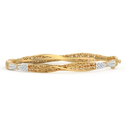 Swivel Diamond Bangle