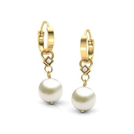 Moondrop Pearl Earrings