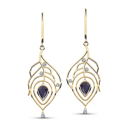Mayur Svelte Drop Earrings