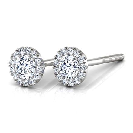6b2b483f5 Halo Bloom Earrings Jewellery India Online - CaratLane.com