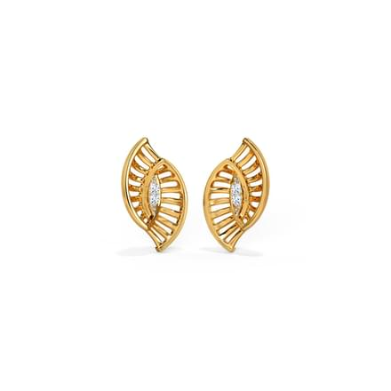 Elaine Diamond Stud Earring