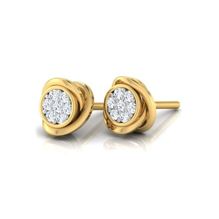 Hazel Cluster Stud Earrings