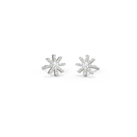 Twinkle Diamond Stud Earrings