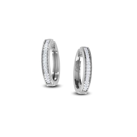 Line Hoop Earrings