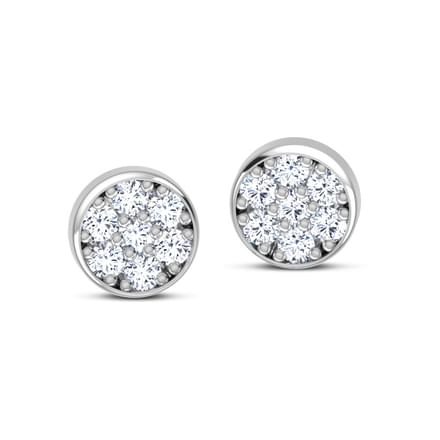 Moonlit Stud Earrings