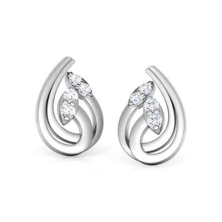 ctw stud earrings ritani a halo diamond cushion platinum sideangle in