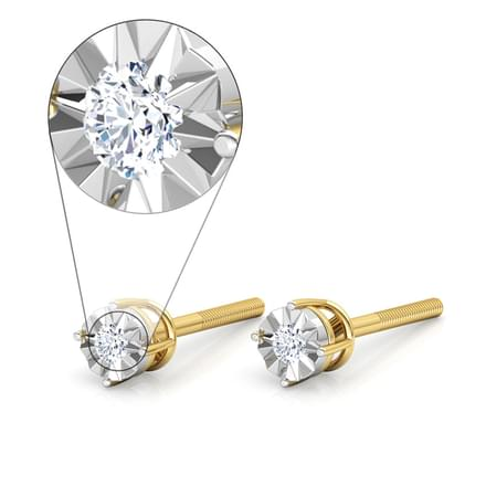 Twinkle Solitaire Earrings