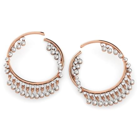 Razzle Dazzle Hoop Earrings