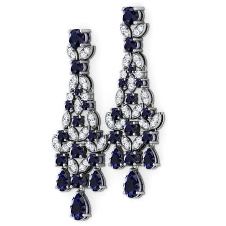 Kate chandelier earrings jewellery india online caratlane kate chandelier earrings aloadofball Images