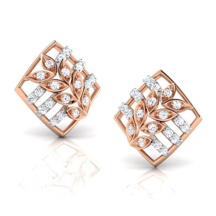 Della Mesh Stud Earrings