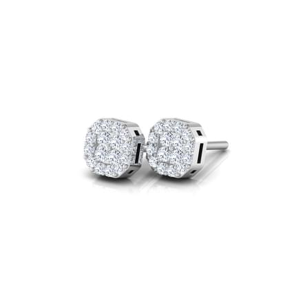 Sophia Diamond Flock Stud Earrings