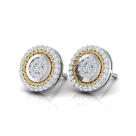 Diana Halo Stud Earrings