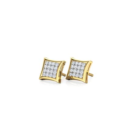 b7c95b3c5 Catia Stardom Stud Earrings. 18 Kt Yellow Gold ...