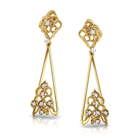 Aradia Crown Drop Earrings